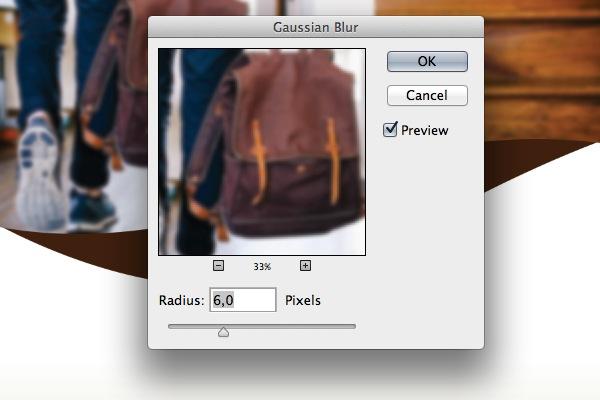 add blur