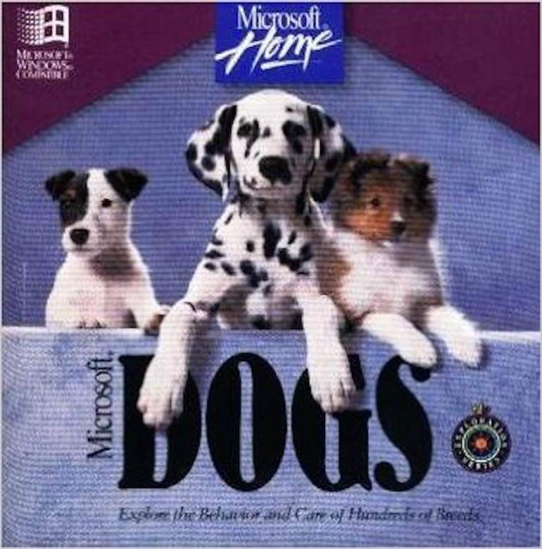 Microsoft Dogs CD-ROM