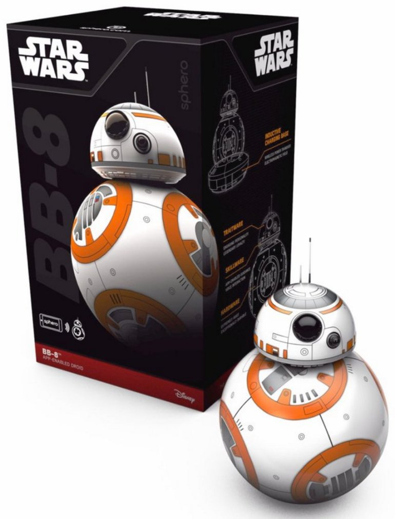IBM Bluemix IoT Emotiv BB-8 Demo - Sphero Retail box for Star Wars BB8 Droid