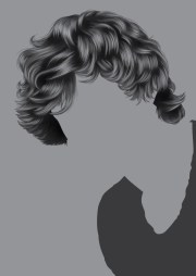 render short detailed hair