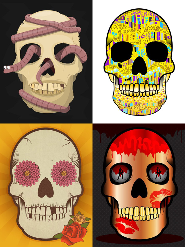 Skull designs by Tysia00 Lindsey Henderson Annika Dijana Devi