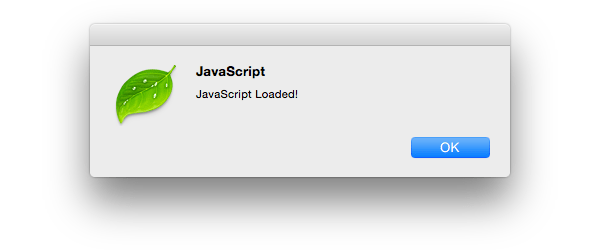 JavaScript Loaded