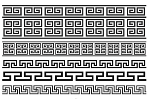 Free Greek Key Brushes Vector