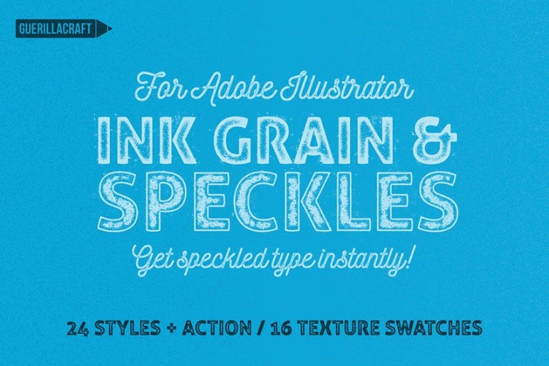 Ink Grain  Speckles for Adobe Illustrator
