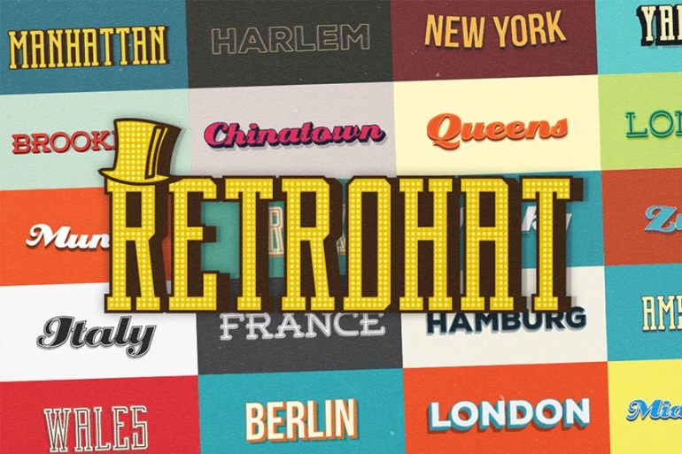 Retrohat Graphic Styles