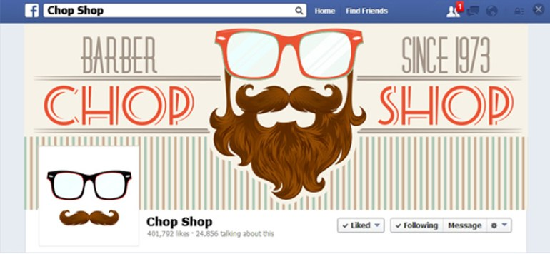 How to Create a Hipster Facebook Banner by Yulia Sokolova