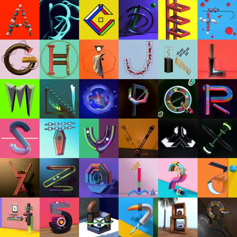 36 Days of Type by Abimael Rodz