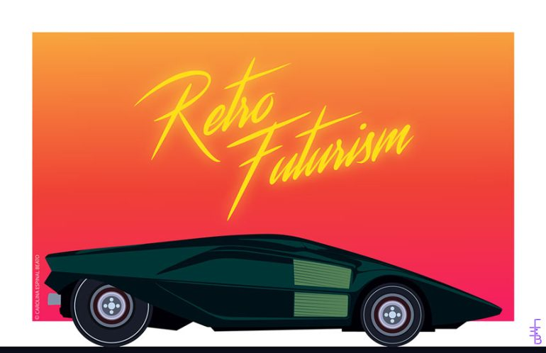 Retro Futurism by Carolina Espinal Beato