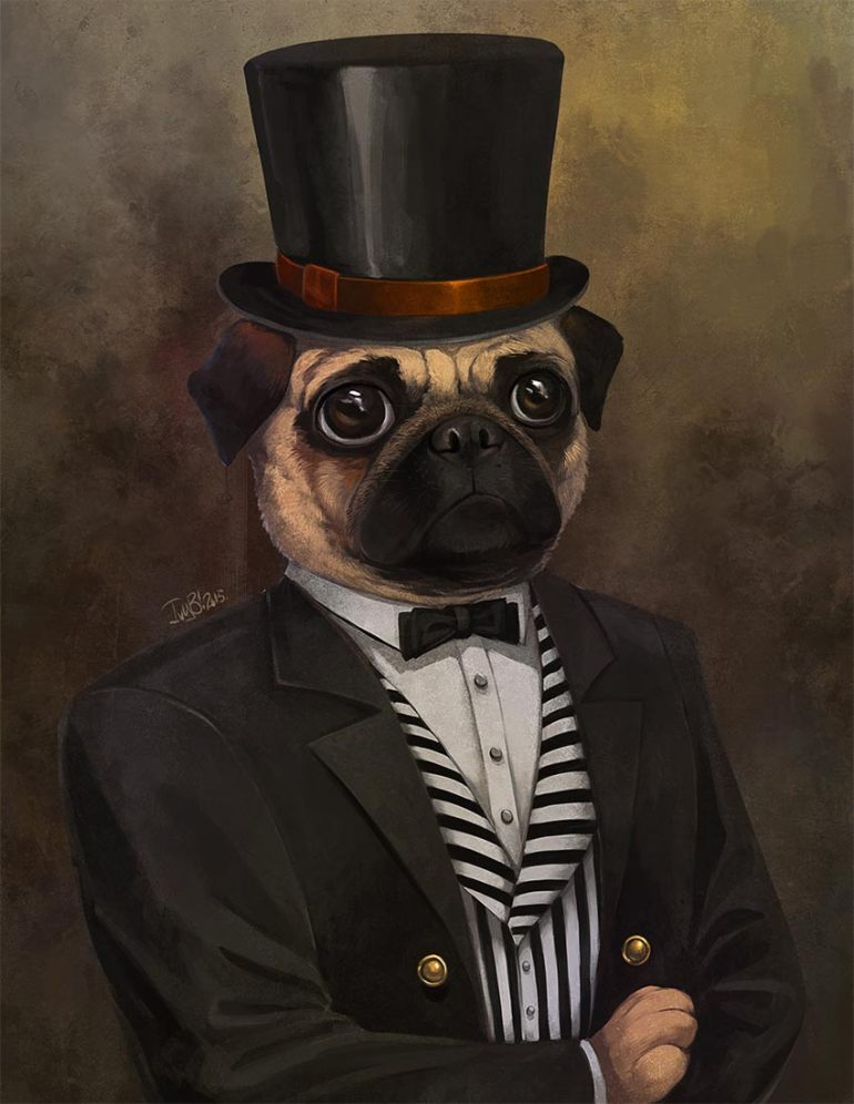 The Dapper Pug by Ivy Gladstone