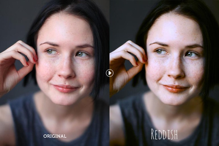 Reddish Photoshop Actions