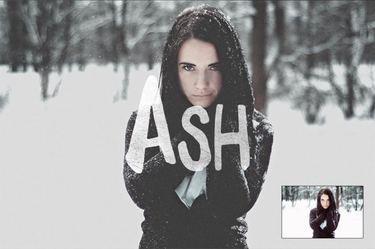 Ash Photoshop Action