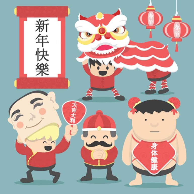 Chinese New Year Character Set