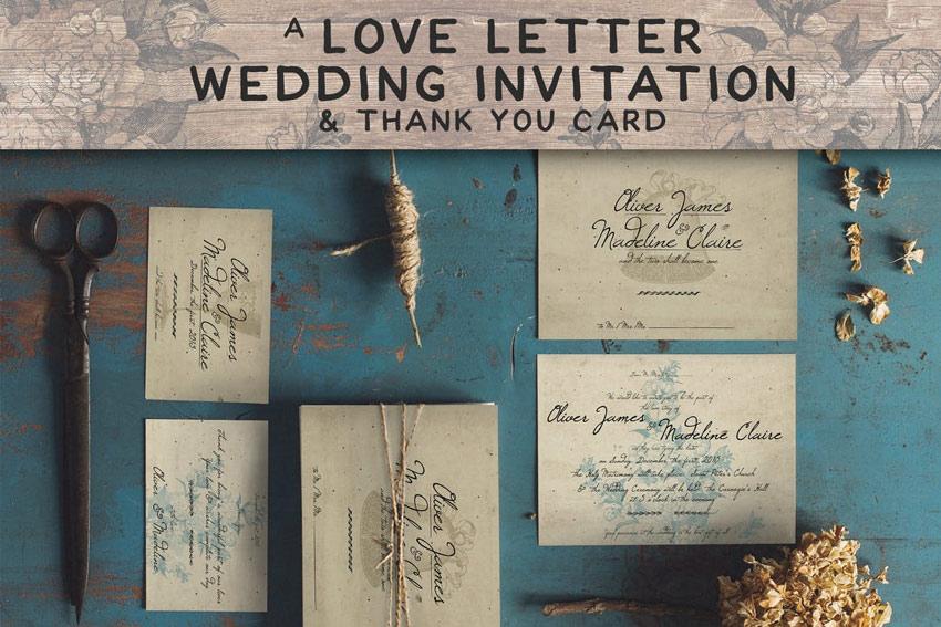 49 stylish wedding invitation templates