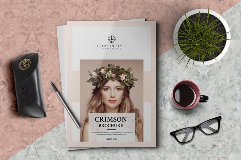 Crimson Brochure Template