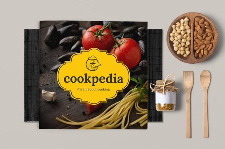Food Brochure Template