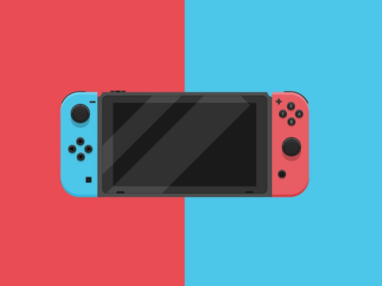 How to Create a Nintendo Switch in Adobe Illustrator
