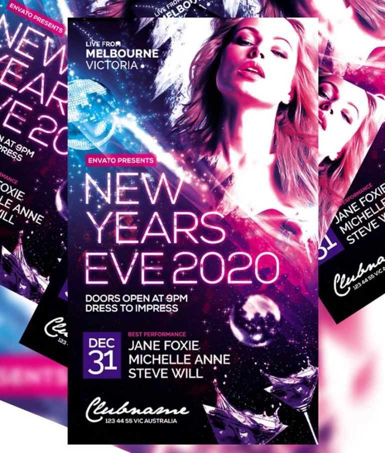 New Years Flyer Vol 3