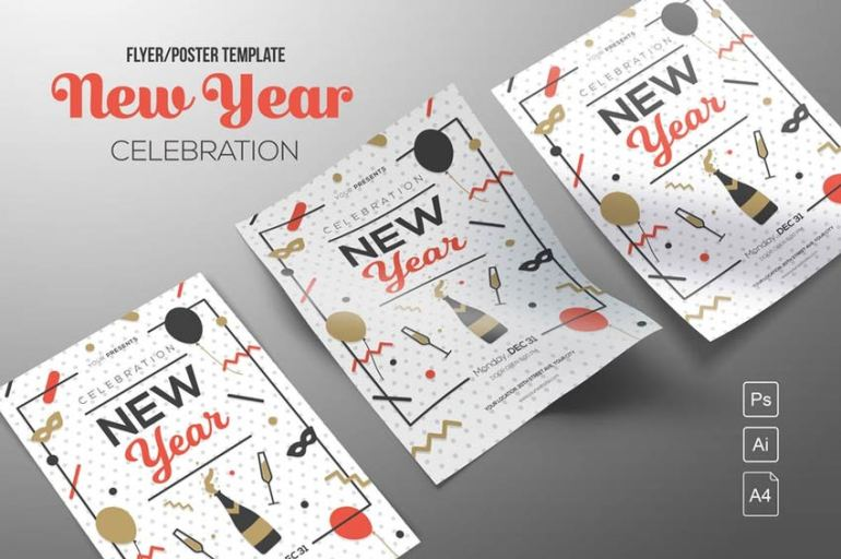 New Year Celebration Template