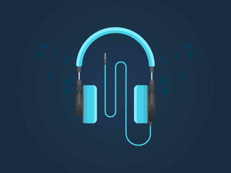 Create Flat Design Headphones in Adobe Illustrator