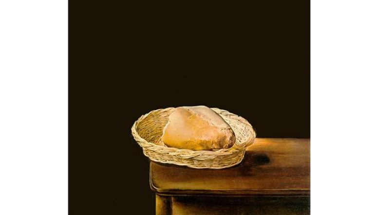 Basket of Bread by Salvador Dal