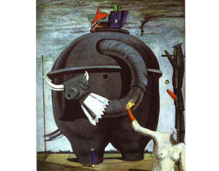 The Elephant Celebes by Max Ernst