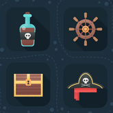 How to Create Flat Pirate Icons in Adobe Photoshop