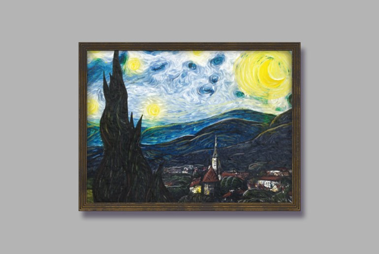 Starry Night Photo Manipulation