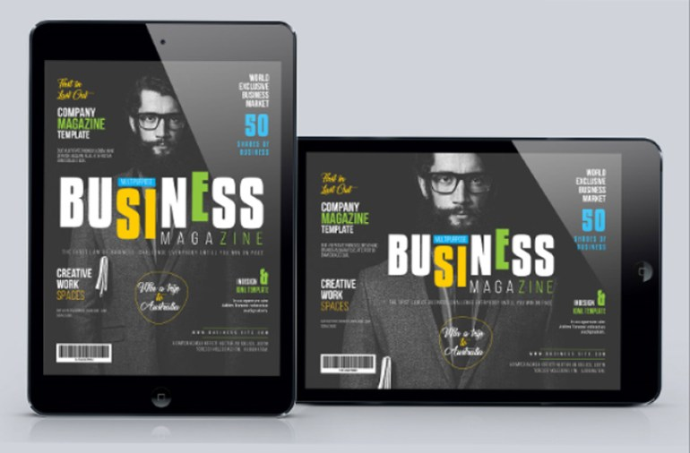 Multipurpose Tablet Magazine Template