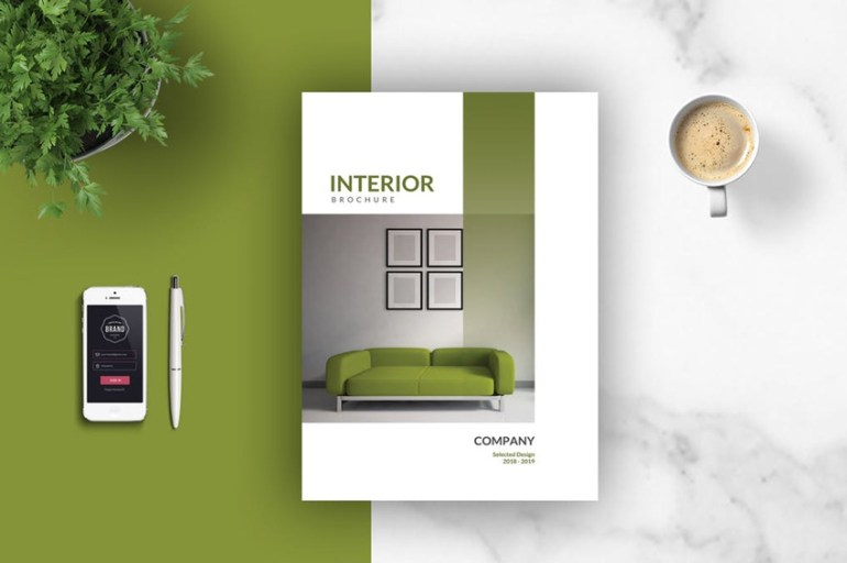 Interior CatalogMagazine Template