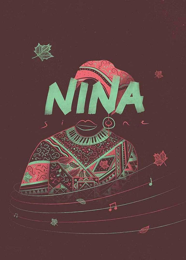 Nina Simone High Priestess of Soul Poster