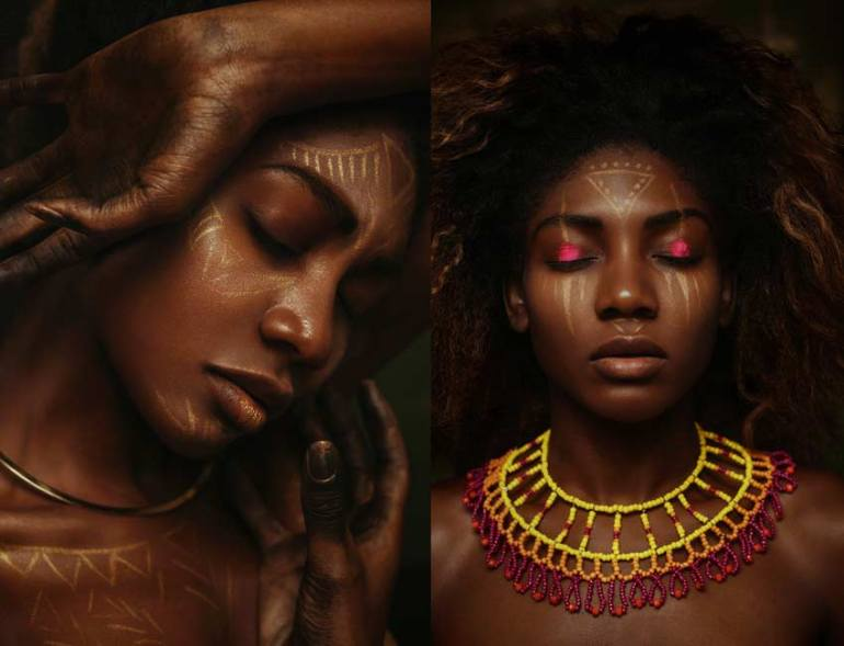 Beauty Editorial for Salys Magazine