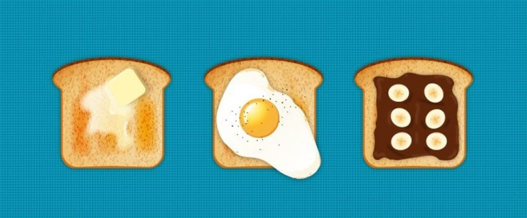How to Create Delicious Toast Icons in Adobe Illustrator