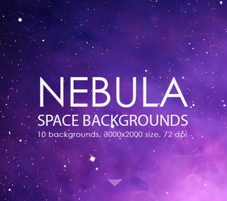 Nebula Space Backgrounds