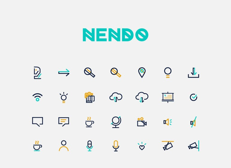 Nendo Logo and Icons