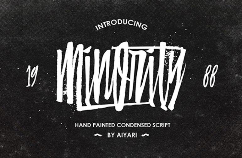 Minority Font