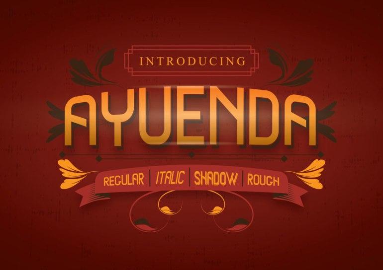 Ayeunda Font