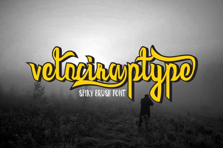 Velociraptype Font