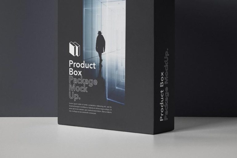 Psd Product Box Package Mockup