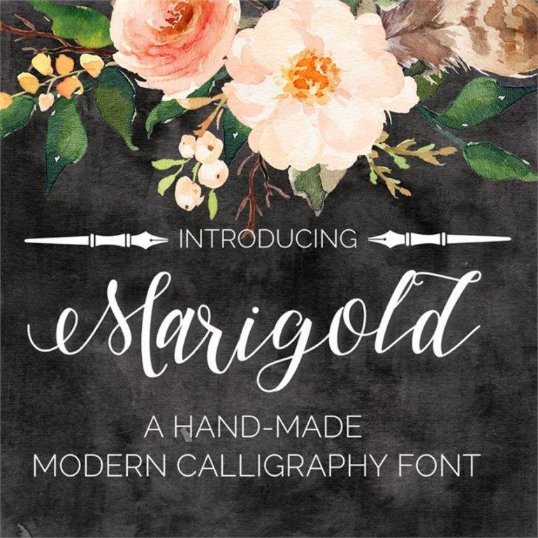 Marigold Font
