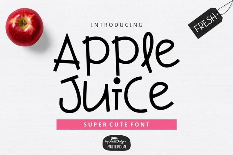 Apple Juice Font