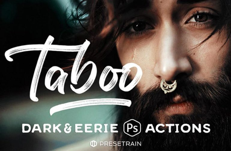 Taboo Fantasy Portrait Photoshop Actions