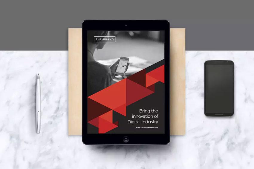 Corporate E-Book Template