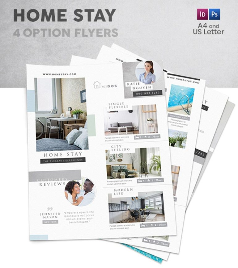 Home Stay Flyers