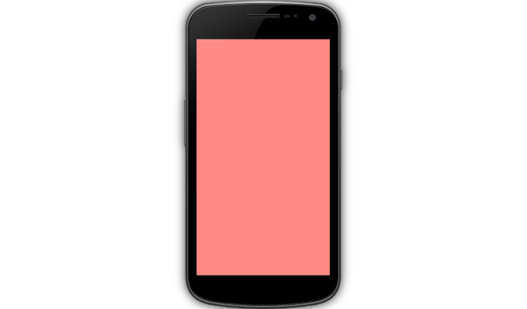 Blank canvas with red background