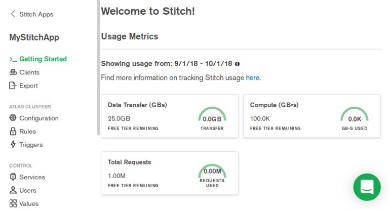 Stitch app overview