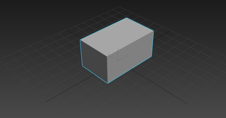 Image of a 3D box