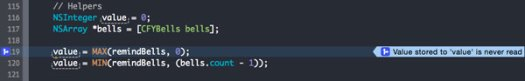 Xcode will tell you exactly what is wrong with your code