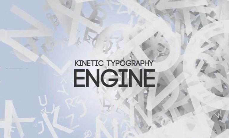 Kinetic Typography Engine