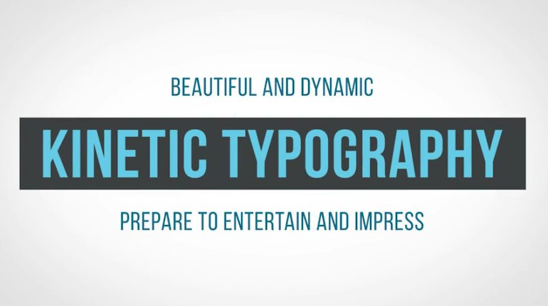Kinetics  Professional Kinetic Typography System