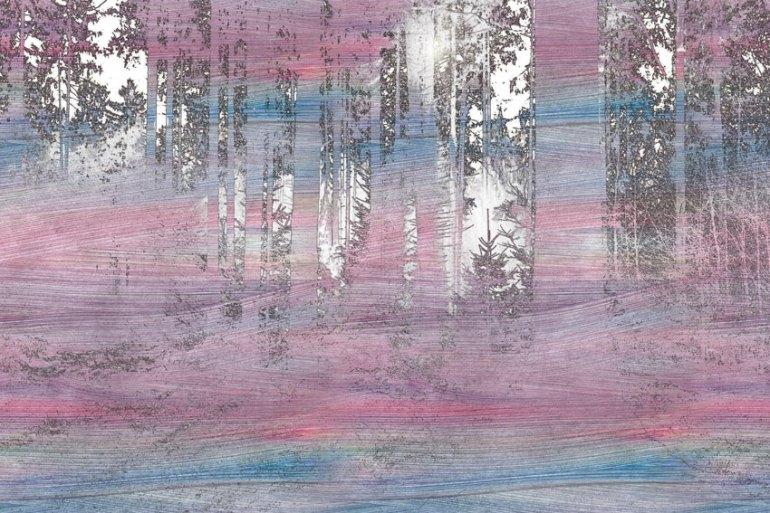 Stencilled Acrylic